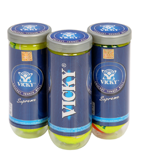 Vickey Supreme Cricket Tennis Ball - Light
